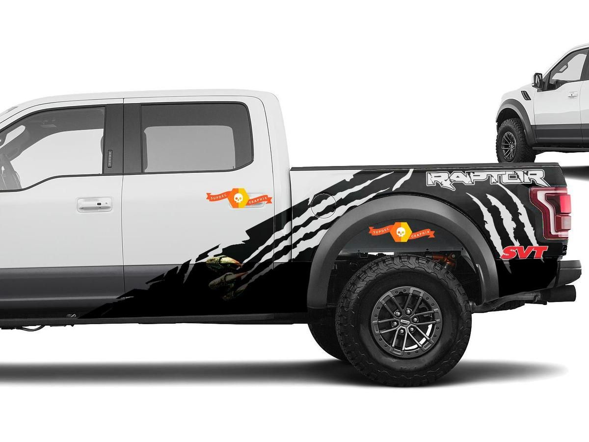 Product F 150 Ford Raptor Svt Mud Splash Decal Graphics Decals Stickers Chatter Naklejki Na Avto Naklejki