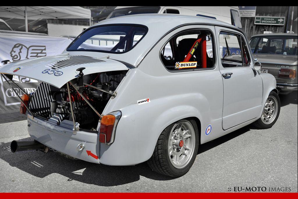 Fiat Abart 850 Tc Tauplitzalm Bergpreis Hill Climb C 2012