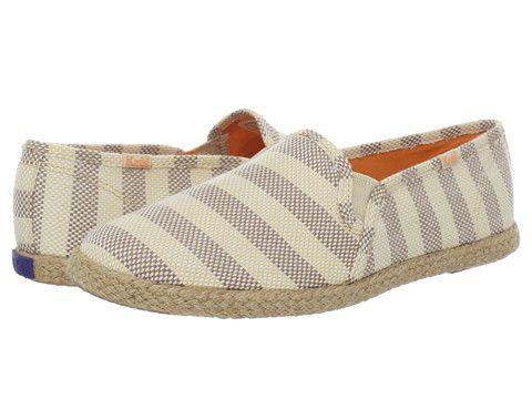 Keds Women's Casual Shoes Twin Gore Jute Stripe Cream