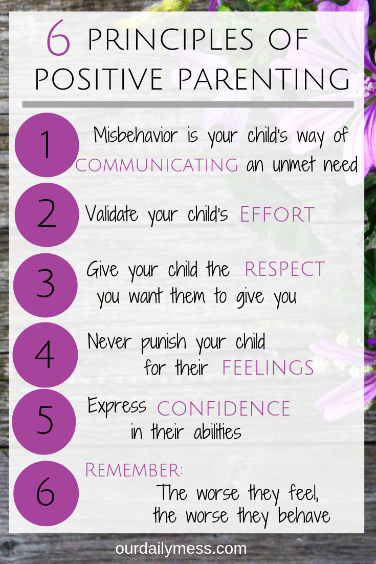 Photo of 6 Principles of Positive Parenting