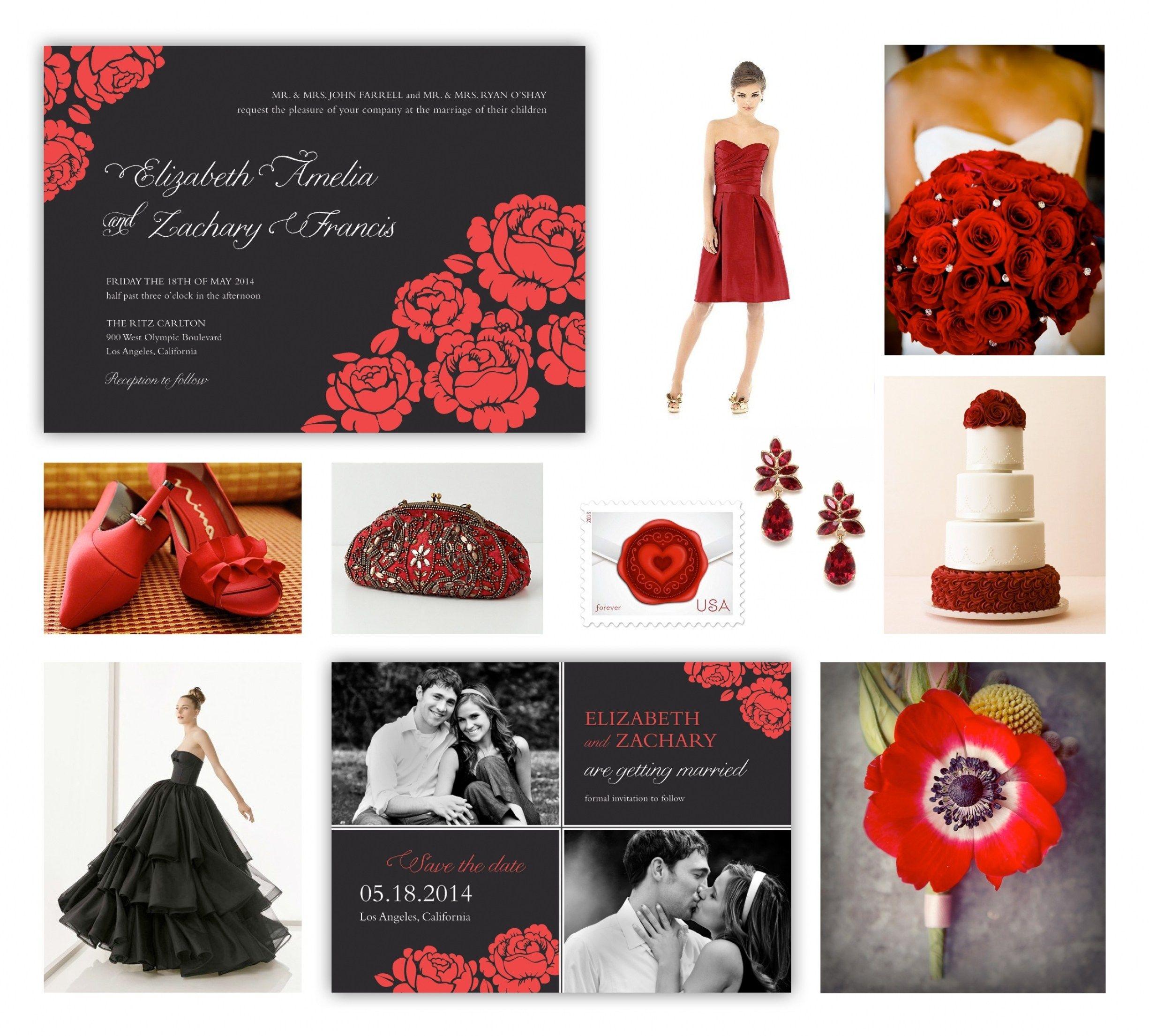Amazing 30 Invitation Red Rose Wedding | Red rose wedding, Wedding ...