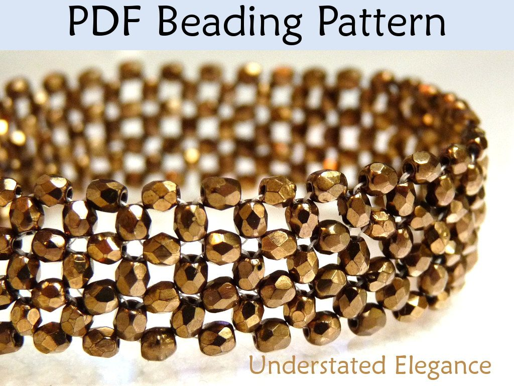 Beads instructions - Beading Instructions Right Angle W