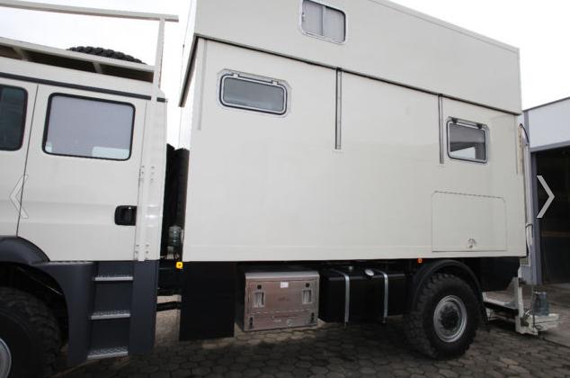 MAN Wohnmobil Andere TGM Doka Archemobil Wohnkabine Camper