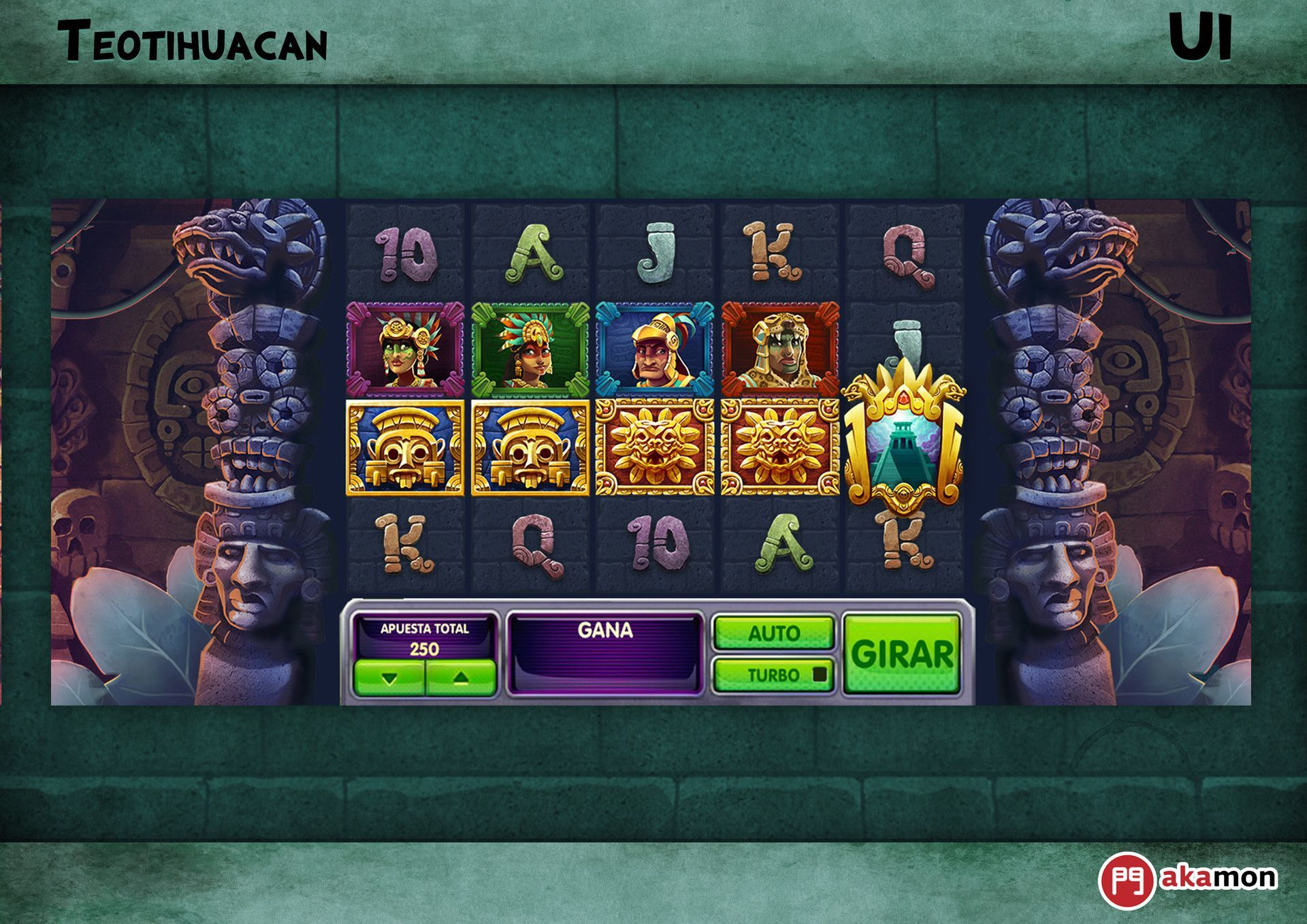 Artstation Teotihuacan Slot Videogame Yizard Onlinecasinomalaysia Trustedonlinecasino Scr888 Supergold7slot 918 Teotihuacan Game Design Game Concept