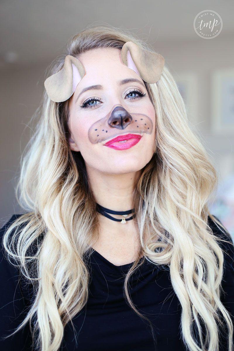 Dog Halloween Makeup.Pin On Makeup Crafts