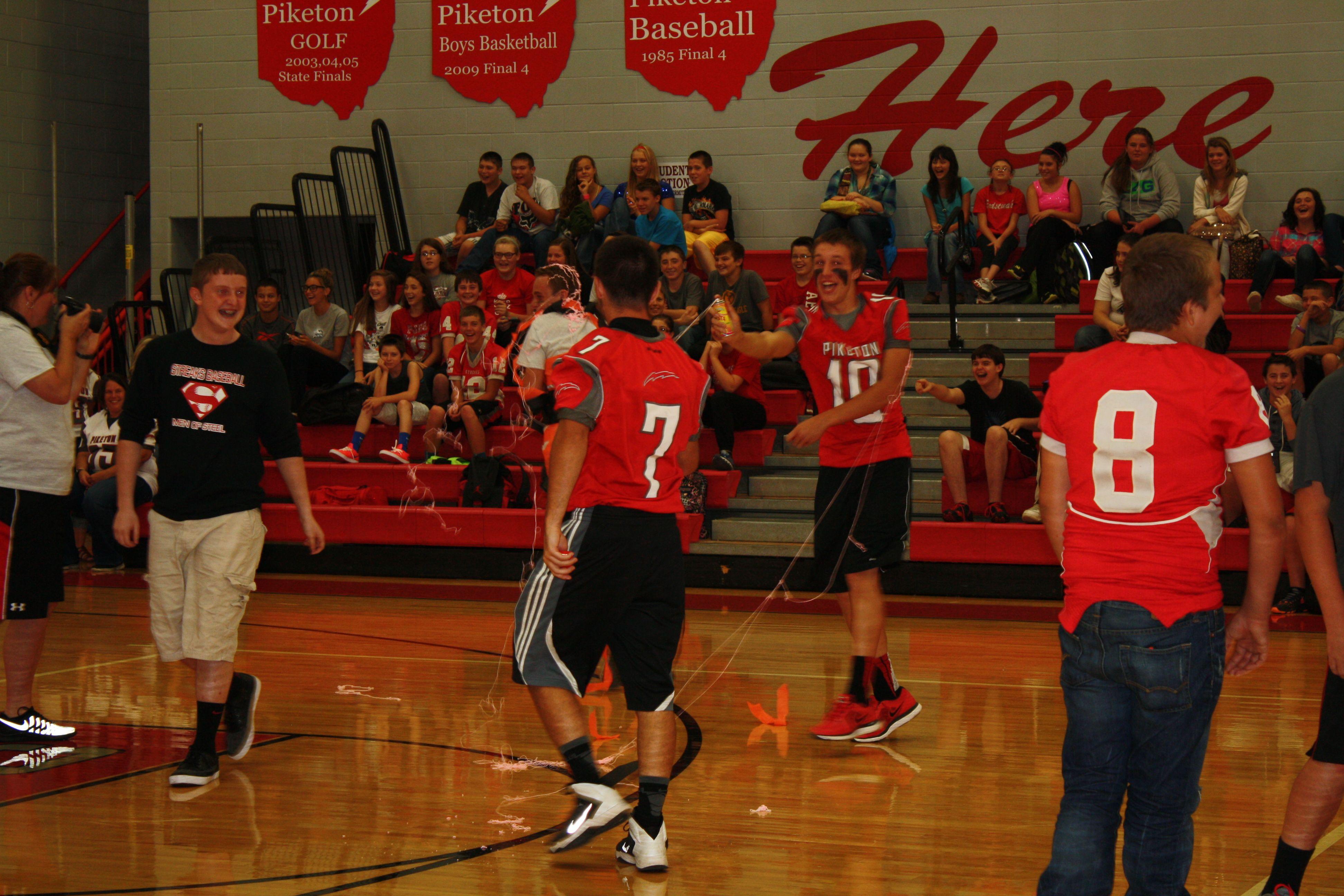Pep Rally Basketball, Basketball court, Pep rally
