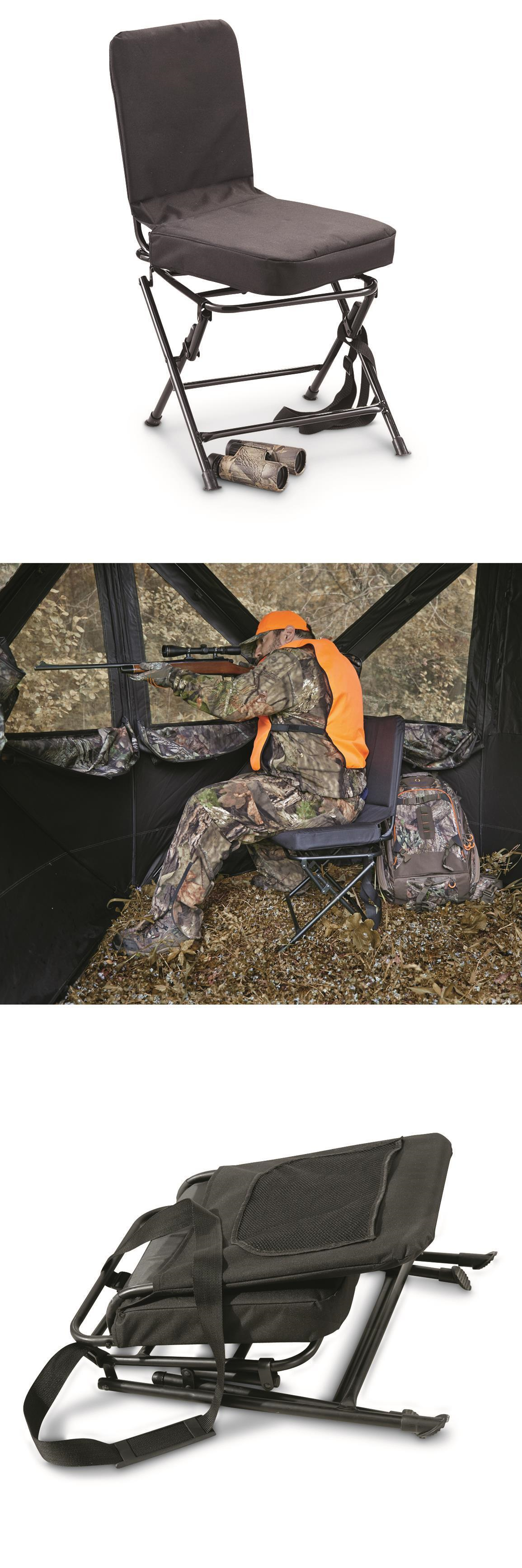 Seats and Chairs Oversized Swivel Hunting Blind Chair