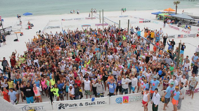 Another Great Turn Out For The Emerald Coast Volleyball Week Gulf Coast Beaches Okaloosa Island Pier Fishing