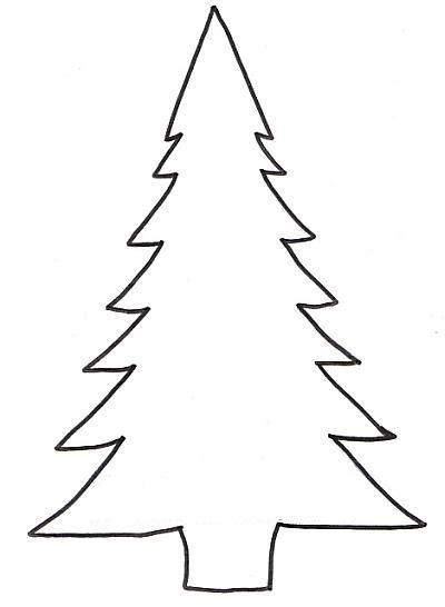 tannenbaum vorlage  weihnachtsbaum vorlage weihnachten