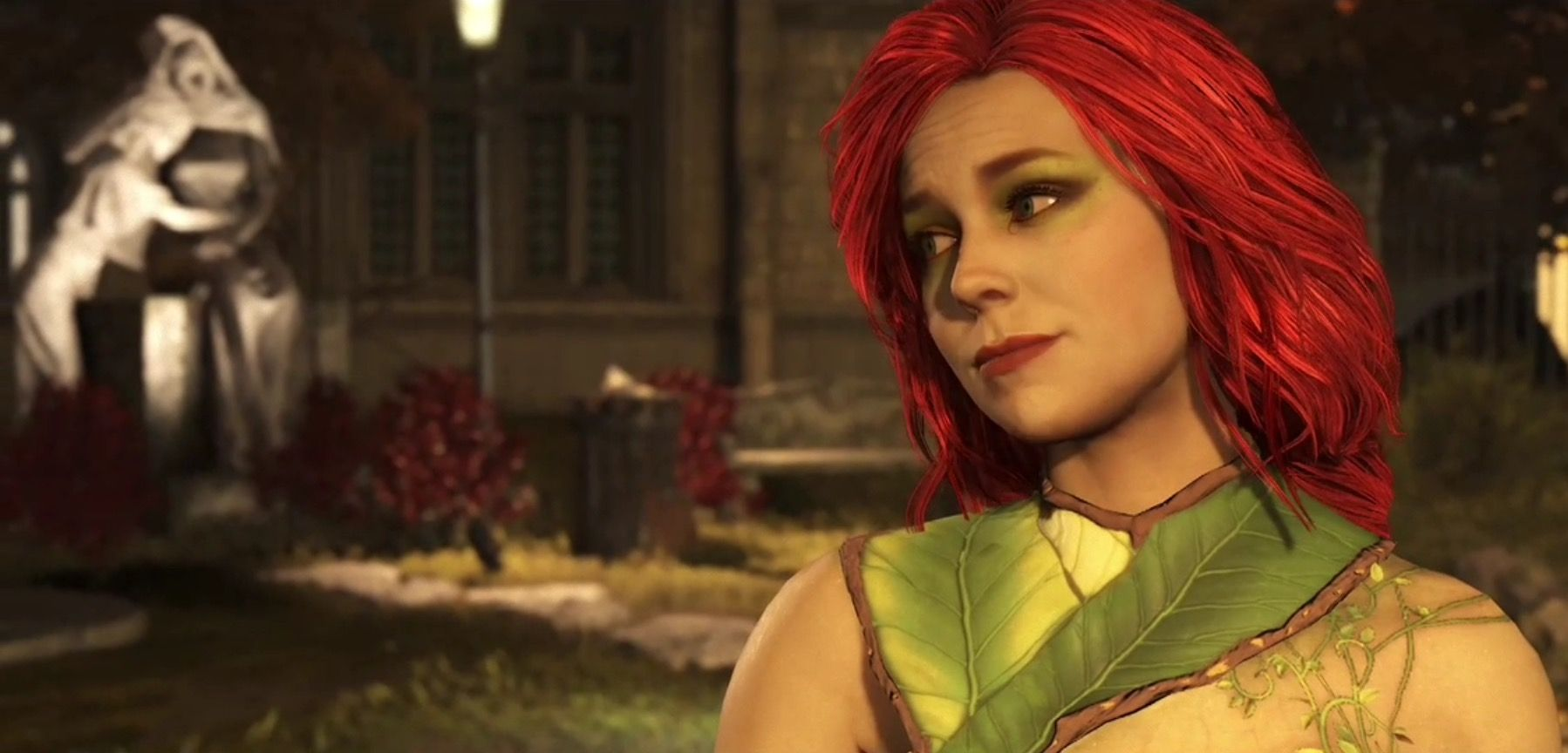 Injustice 2 Poison Ivy Poison Ivy Long Hair Styles Beauty