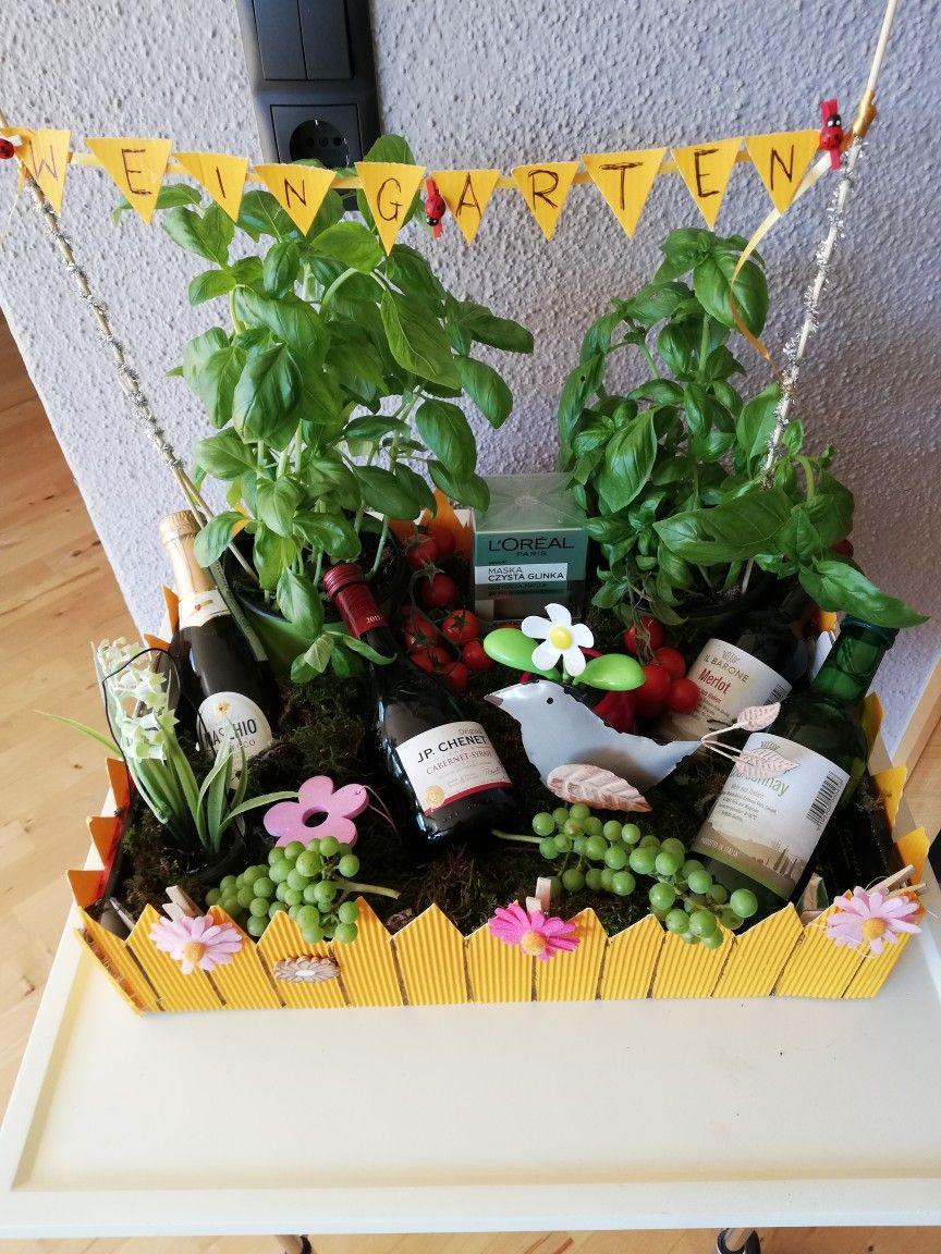 Weingarten Vatertag Geschenke Basteln Geschenkideen Geldgeschenke Geburtstag Selber Basteln