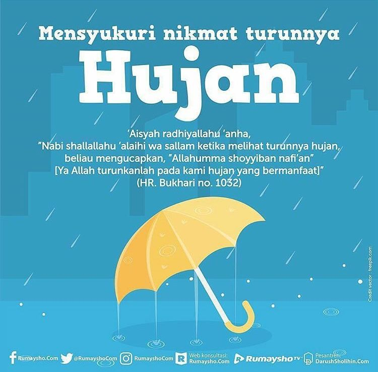 Jangan Cela Ketika Hujan Turun Dengan Gambar Motivasi Bijak
