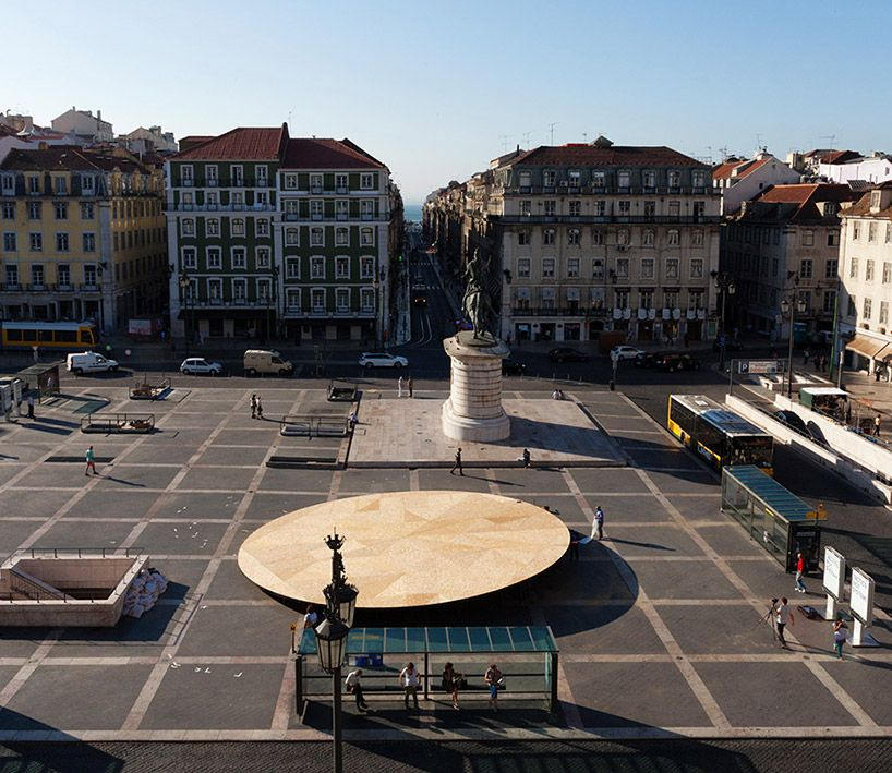 Civic Stage By Frida Escobedo At The Lisbon Triennial Monumentos Modelos E Projetos