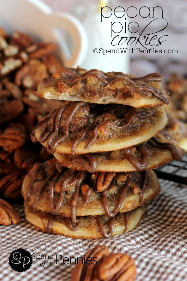 50 Christmas Cookie Recipes Party Foods Cookie Pie Pecan Pie