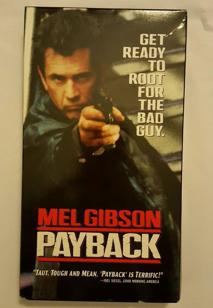 Payback (VHS, 1999) Mel Gibson in DVDs & Movies, VHS Tapes | eBay Christmas in July Shopping