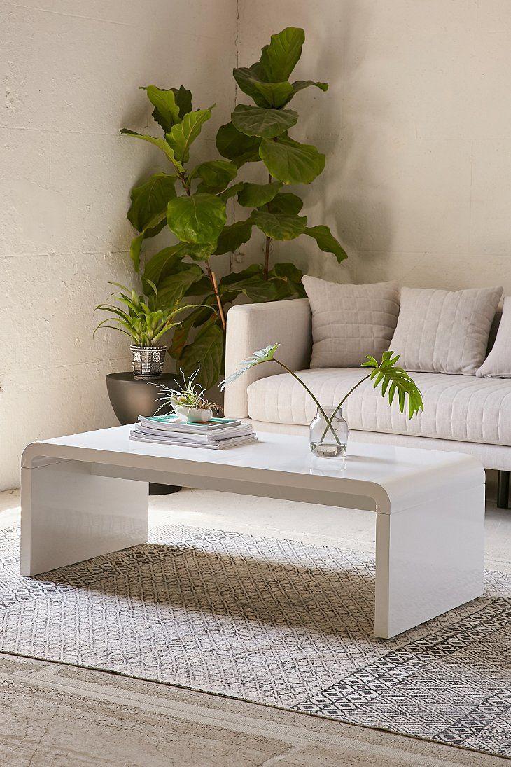 Hamilton Curved Coffee Table Narrow Coffee Table Coffee Table Design Modern Coffee Table [ 1095 x 730 Pixel ]