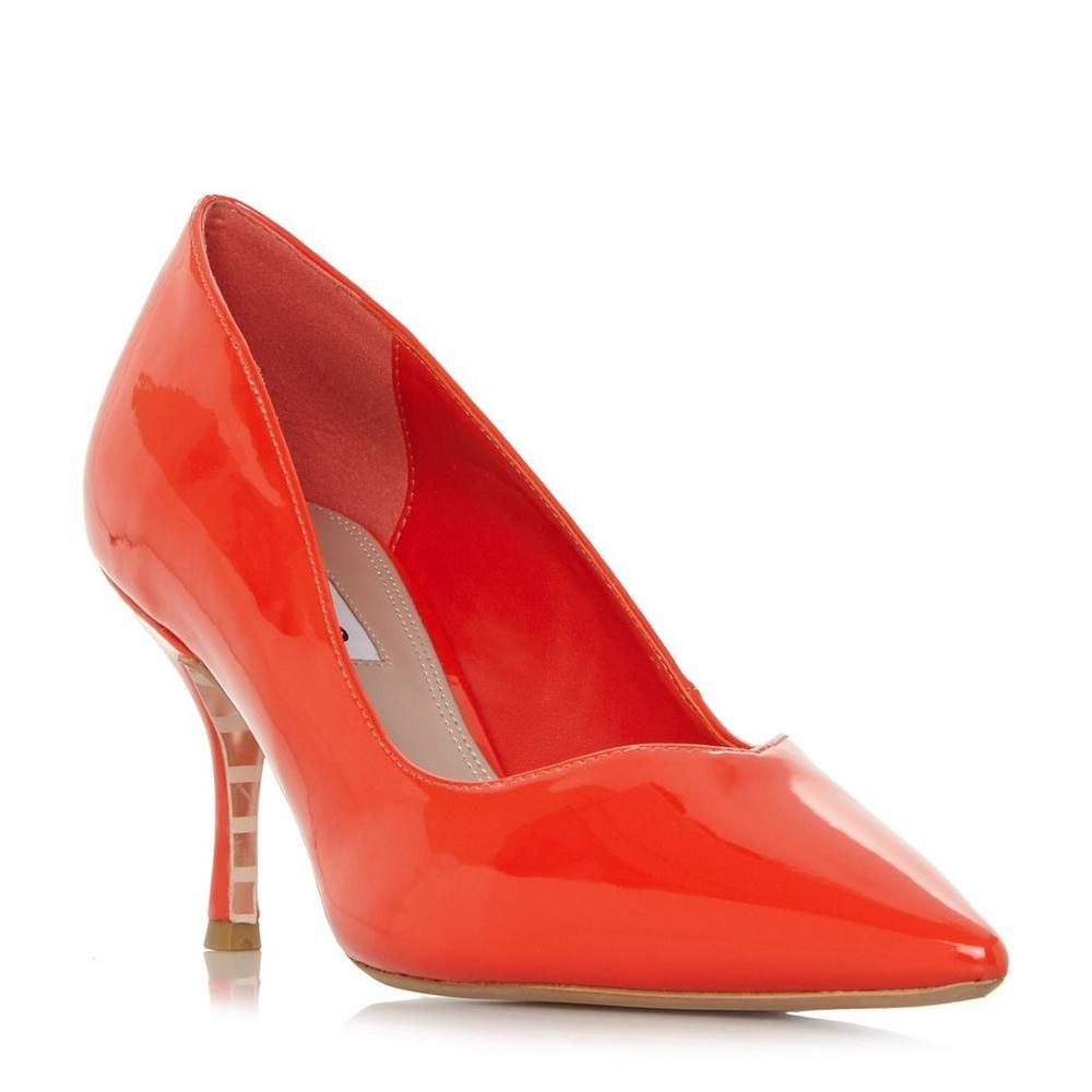 a672243eac482f ANDERSONN - Sweetheart Vamp Court Shoe - orange