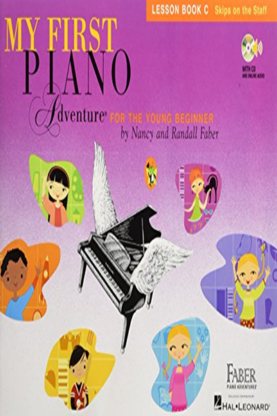 My First Piano Adventure Lesson Book C With Online Audio By Nancy Faber Faber Piano Adventures Music Book Reading Adventure Adventure Book