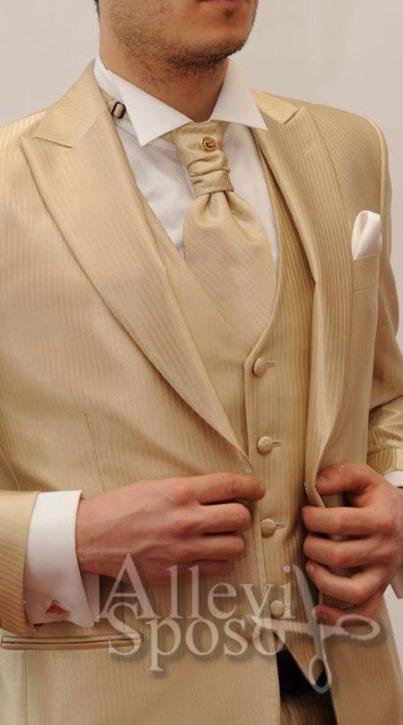 giacca uomo color oro