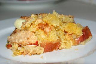 Inspirationskit for livsnydere: Æblekage med kokos og vaniljeis - hurtigt og lækkert
