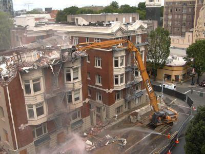 Industrial Demolition Contractors Talk Cab Protection Features for Excavators