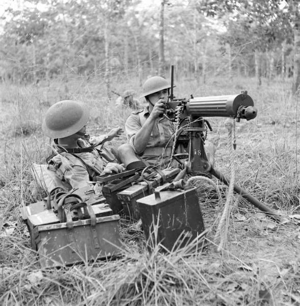 Singapore Volunteer Corps machine gun section