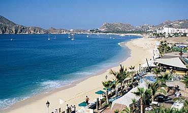 Looking Down Pristine El Médano Beach Towards Cabo San Lucas 17 Beaches To Explore