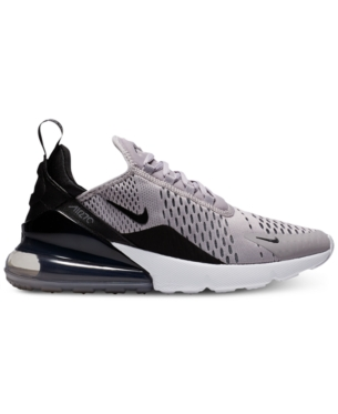 Nike Women s Air Max 270 Casual Sneakers from Finish Line - Black 8 ... 567b363a8e