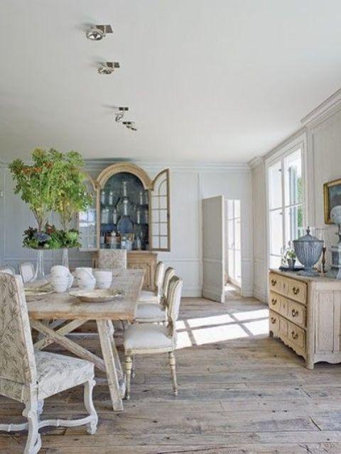 Sala da pranzo provenzale: 29 idee stile provenzale | Sala da pranzo ...
