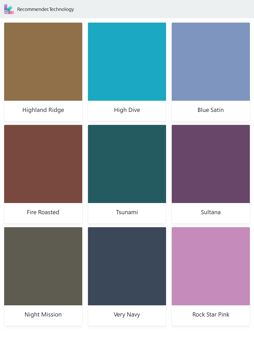 Highland Ridge Fire Roasted Night Mission High Dive Tsunami Very Navy Blue Satin Sultana Rock Star Pink Behr Paint Colors Paint Color Palettes Painting