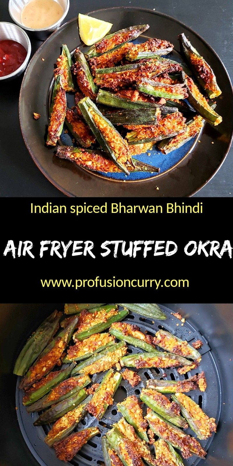 Stuffed Okra Bharwa Bhindi Recipe in 2020 Recipes