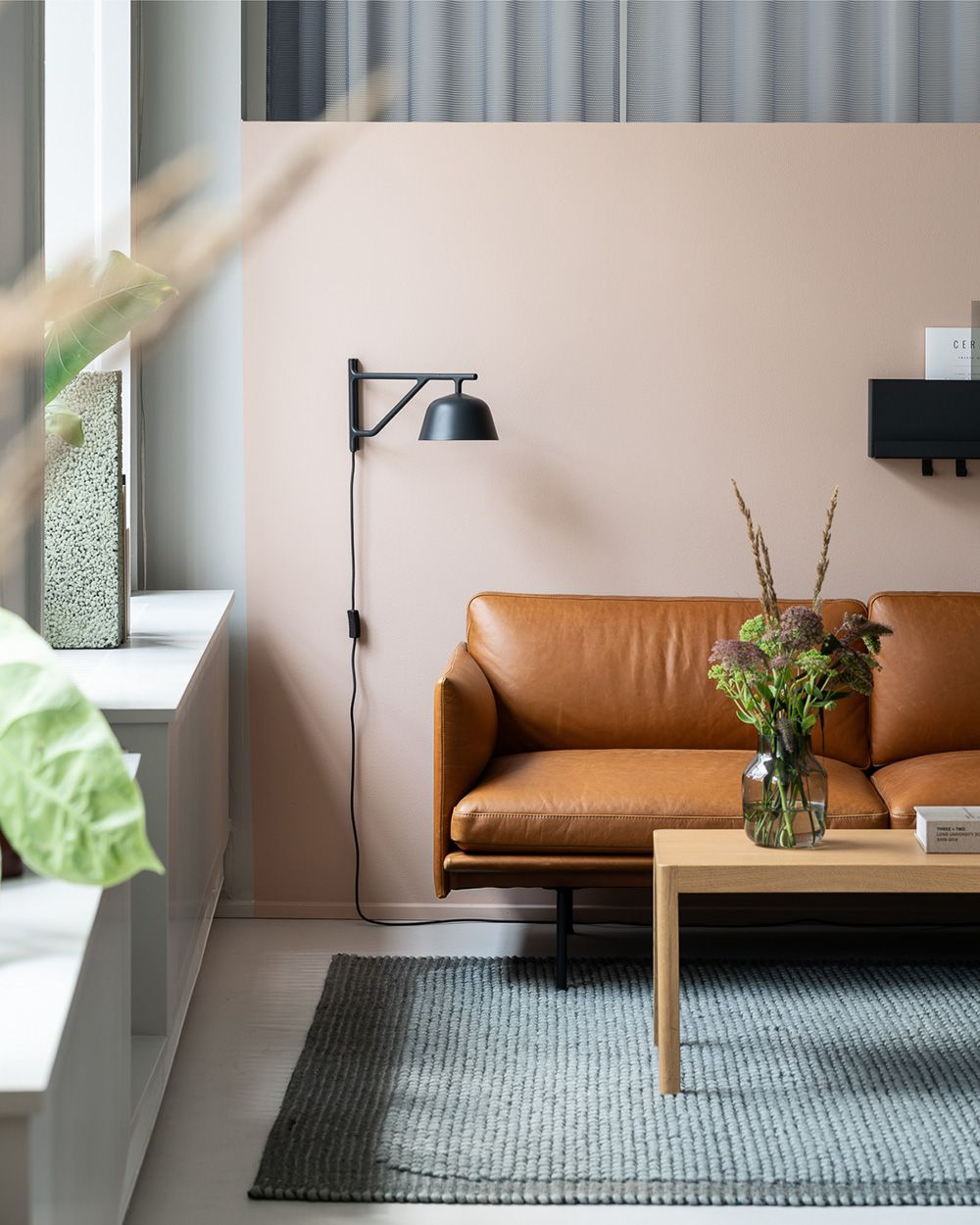 Interior Garden Design Timeless Swedish: Minimal And Timeless Sofa Decor Inspiration From Muuto