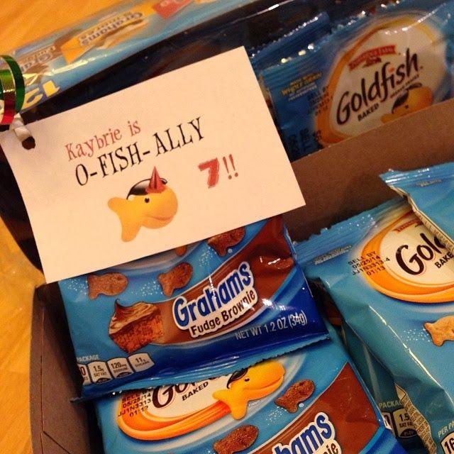 Classroom Snack Ideas Kindergarten : The crow s class birthday treats kaybrie is o fish