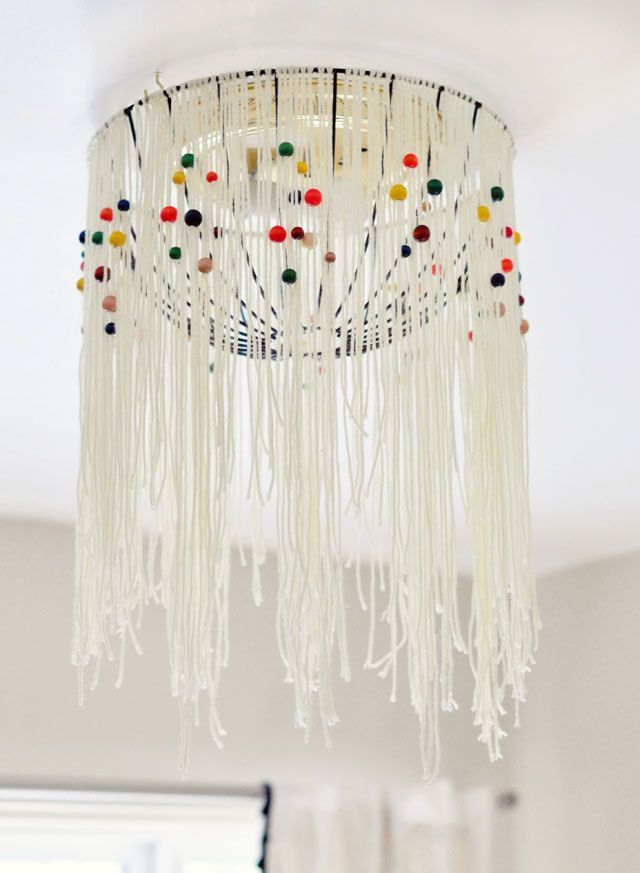 diy eames inspired bohemian pendant lamp cover w out rewiring rh pinterest co uk