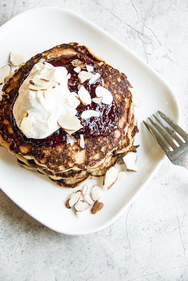 Coconut Oat Pancakes   Family Thanksgiving Breakfast = Homemade Pancakes   Mouthwatering Pancake Recipes