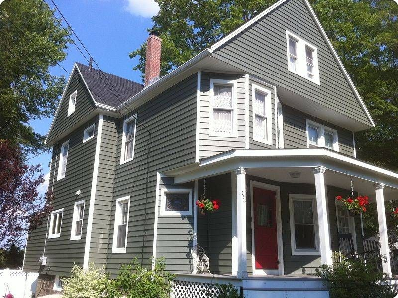 Gray Victorian Homes Pic James Hardie Fiber Cement Siding Vinyl Siding And Roofing In