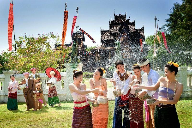 วันสงกรานต์ Songkran Day งานเทศกาล, ภาพ, ธรรมชาติ