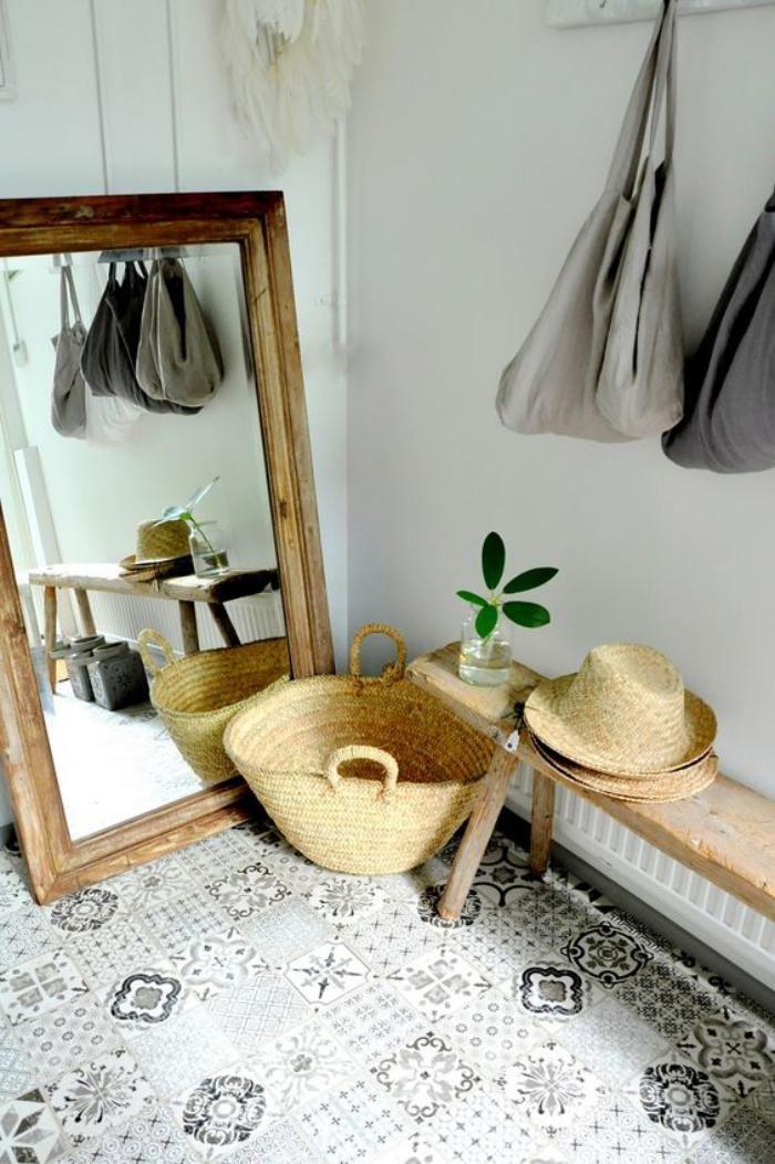 Quel miroir d 39 entr e choisir pour son int rieur jolies for Grand miroir cadre bois