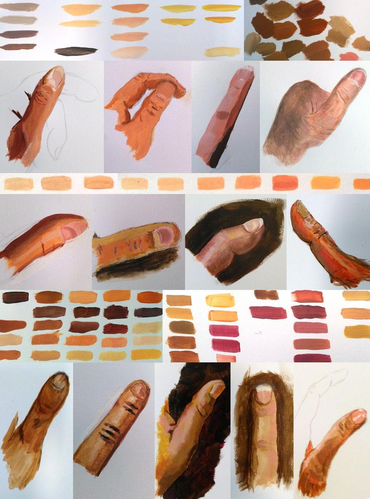 Couleurs de peau   Couleur de peau, Couleur, Peau