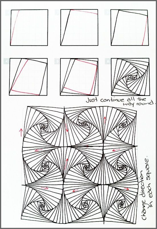 Step By Step Decorating Living Room: Image Result For Zentangle Patterns For Beginners Step By