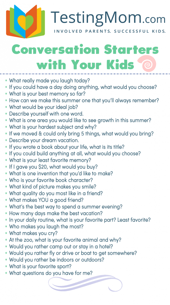 Photo of Parenting tips  Conversation Starters for Summertime! #toddlerdevelopment #toddl…