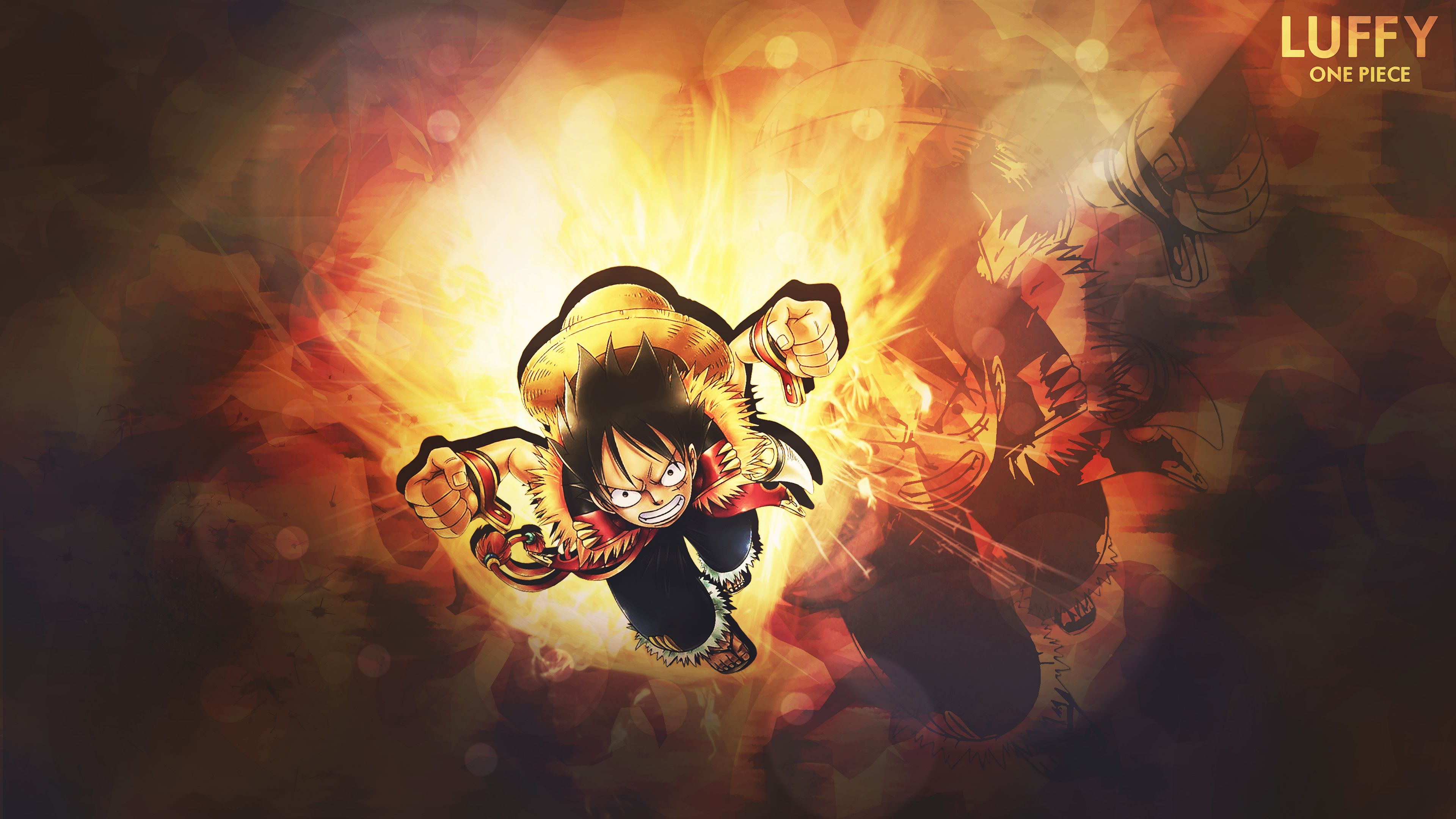 One Piece 4k Ultra Hd Wallpaper Background Image Di 2020 Dengan