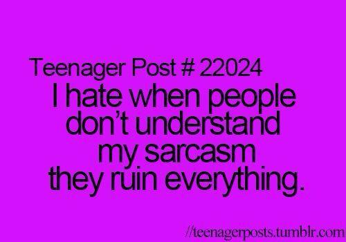 like really