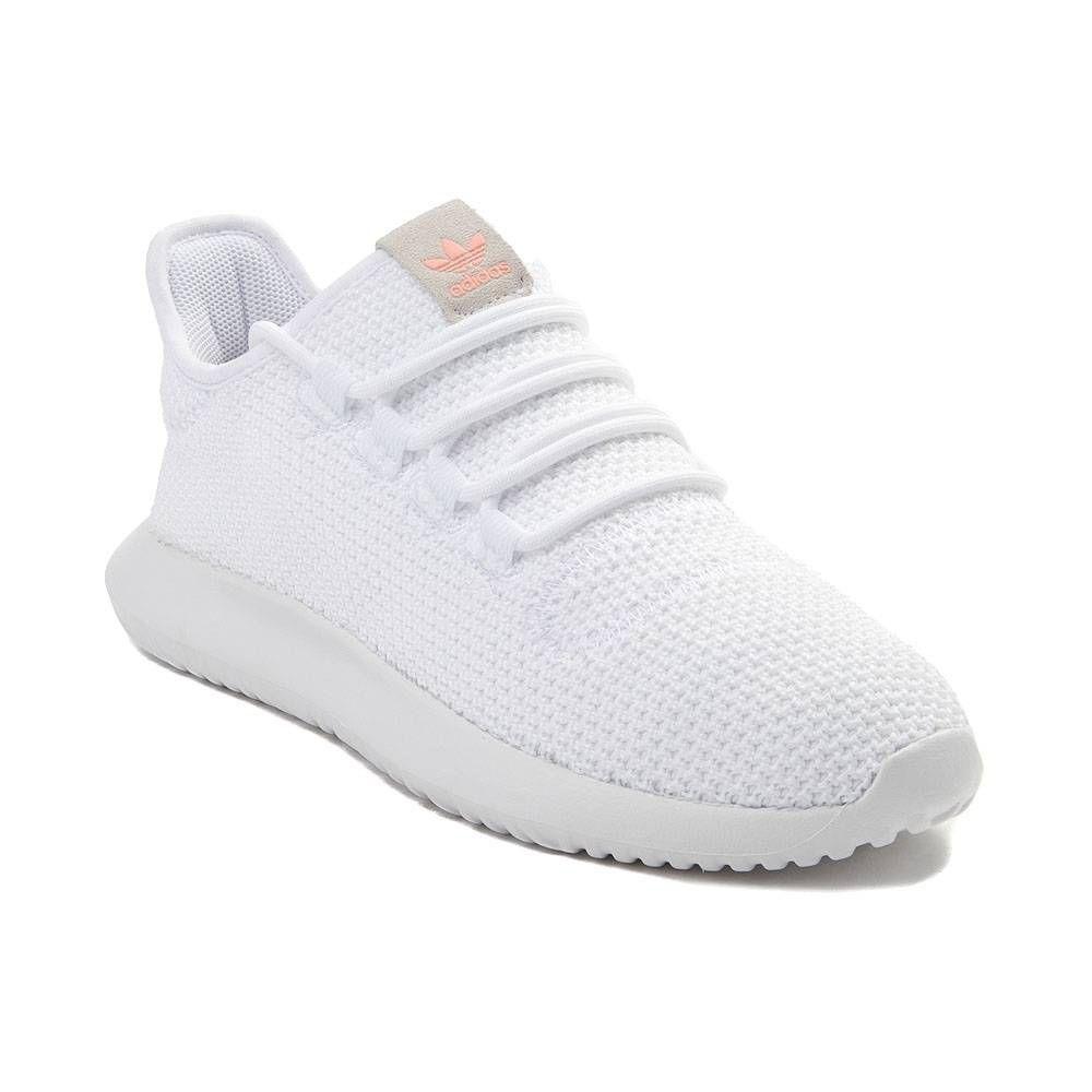 Womens Adidas Tubular Shadow Athletic Shoe White White 436598