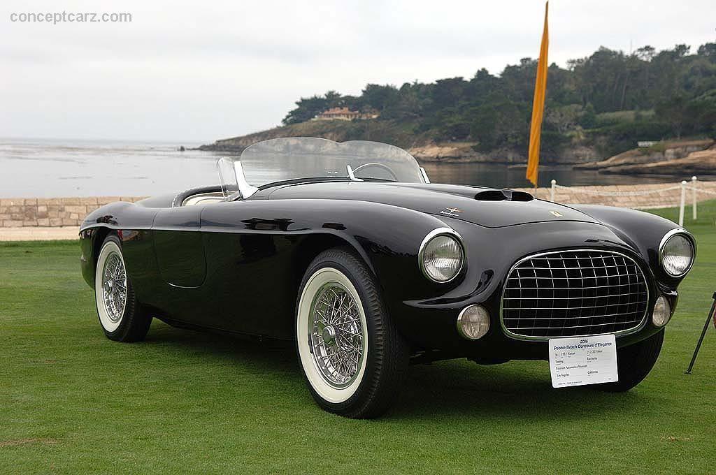 1952 Ferrari 212 225 Inter Conceptcarz Com Ferrari Ferrari California Black Car