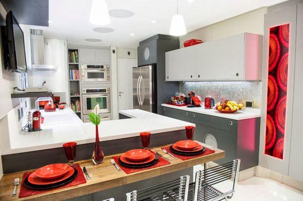 Cocinas Modernas para Espacios Pequeños Modern Kitchens by ...
