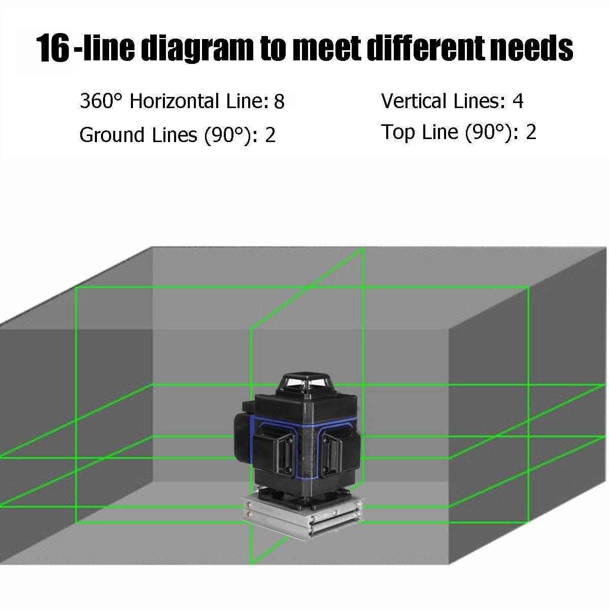 3D Green Beam Laser Level 12/16 in 2020 Laser levels