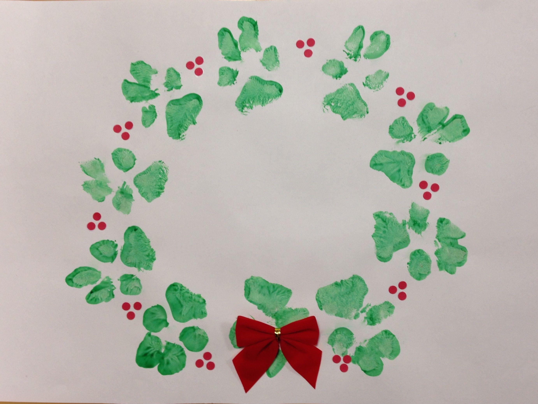 Golden Retriever Paw Print Christmas Art Maizey S Christmas