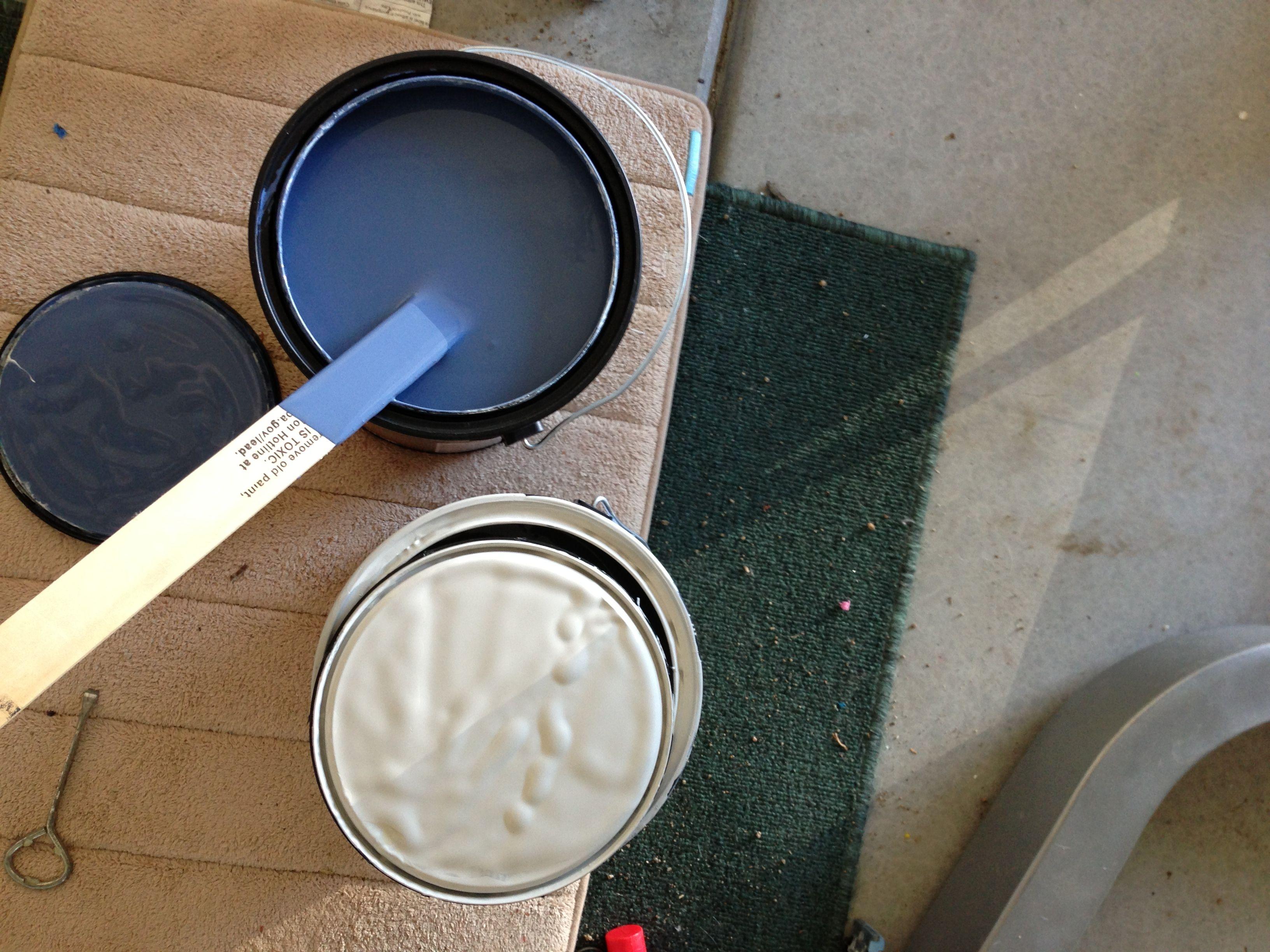 Pottery Barn color palette, Denim & Light French Gray Sherwin ...