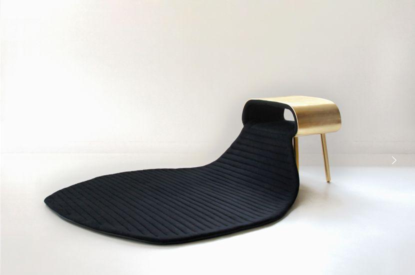 tarah - hybridation entre meuble d'appoint et surface souple ... - Meuble D Appoint Design